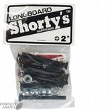 "SHORTY'S ""Longboard"" Skateboard Truck Bolts 2"" Phillips Countersunk Slalom LDP Extra Long"
